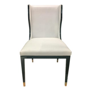 Resource Decor Taylor Fallon-White Side Chair For Sale