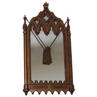 Vintage 1970s Gothic Mediterranean Mirror