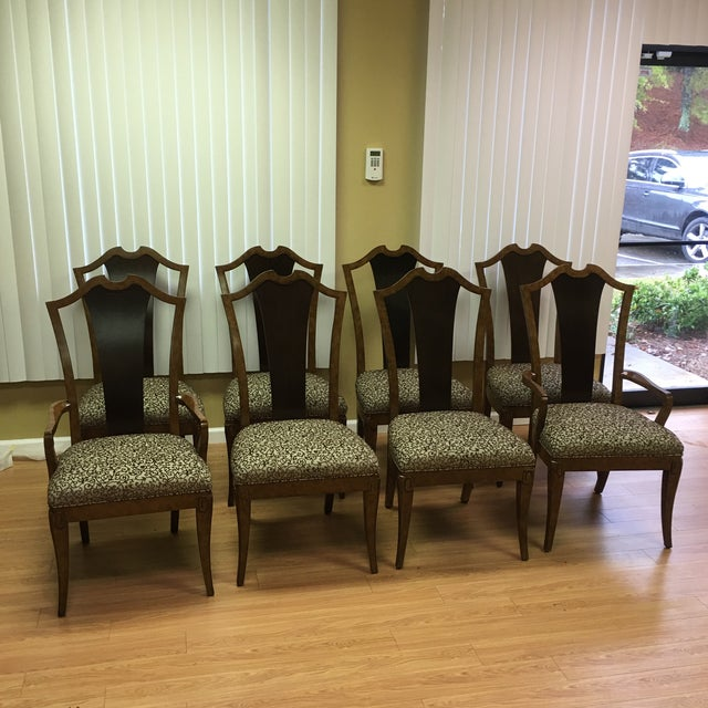 Henredon Frame Dining Chairs - Set of 8 - Image 3 of 9