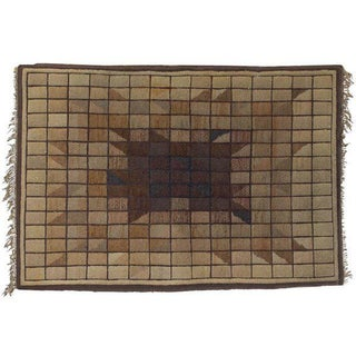 Valmai Edwards for KEI Carpets Geometric Wool Rug Preview