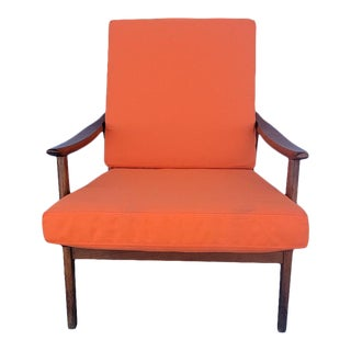 Mid Century Modern Scandanavian Design Accent Chair For Sale