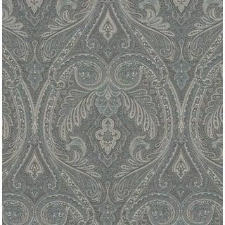 Ralph Lauren Dorchester Paisley Teal Fabric - 1 Yard For Sale