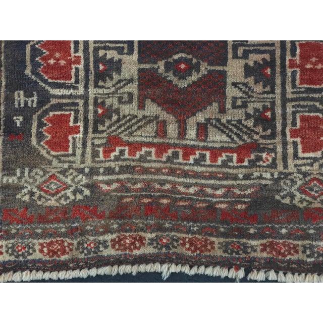 "Vintage Persian Baluchi Rug - 2'6""x3'5"" - Image 4 of 11"