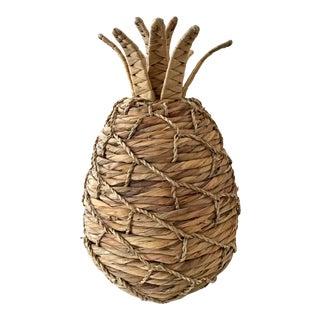 Rattan Pineapple Fun Tropical Decor