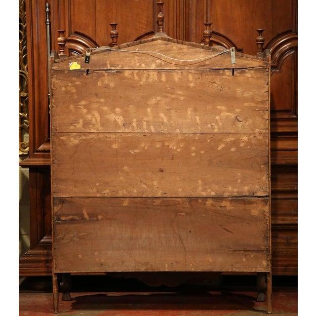 19th Century French Louis XV Carved Walnut Estanier Shelf For Sale - Image 10 of 10