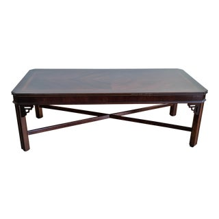 Chippendale Lane Mahogany Coffee Table For Sale