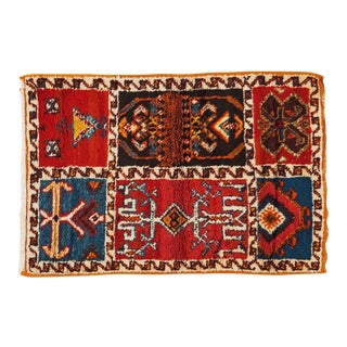 Berber Rug- Six Panel Abstract Designs For Sale