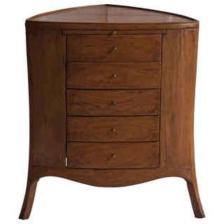 Mid-Century Modern American Office Furniture Cabinet For Sale