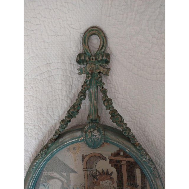French French Blue Silk Bianchini-Férier Wall Hanging For Sale - Image 3 of 10