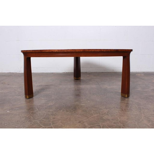 Dunbar Furniture Triangle Coffee Table by Edward Wormley for Dunbar For Sale - Image 4 of 9