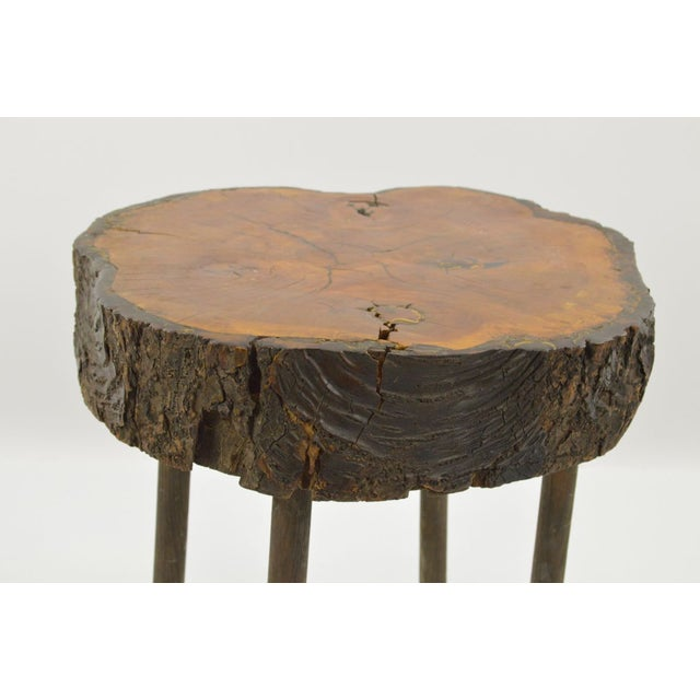 Rustic Side Table - Adirondack Style - Image 3 of 3