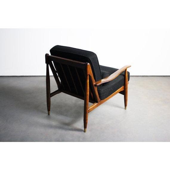Finn Juhl Attributed Walnut Lounge Chair - Image 6 of 6
