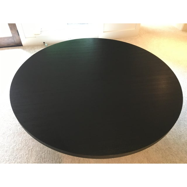 Armani Casa Black Round Dining Table - Image 3 of 11