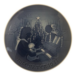 Bing & Grondahl Jule After 1971 Christmas Plate For Sale
