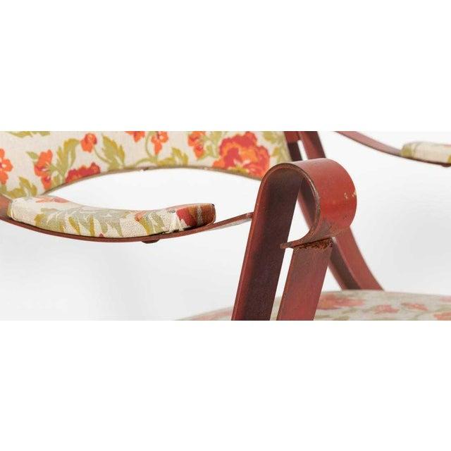Boho Chic 20th Century Boho Chic Savonarola Style Chairs - a Pair For Sale - Image 3 of 6