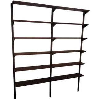 Cado Poul Cadovious Style Wall Shelving Unit 2 Bay Floating For Sale