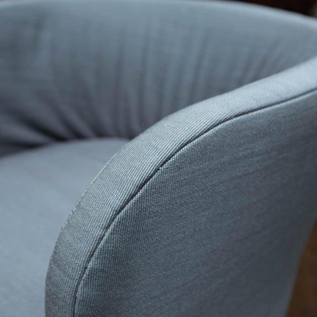 Dunbar Furniture Set of 4 John Saladino for Dunbar Chairs For Sale - Image 4 of 10