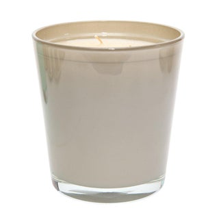 Large Moroccan Oriental-Scented Candle in Light Brown For Sale