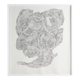 """Untitled #2"" Drawing by Polly Yates For Sale"