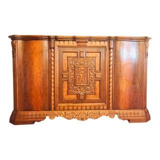 Antique Oak Sideboard Buffet