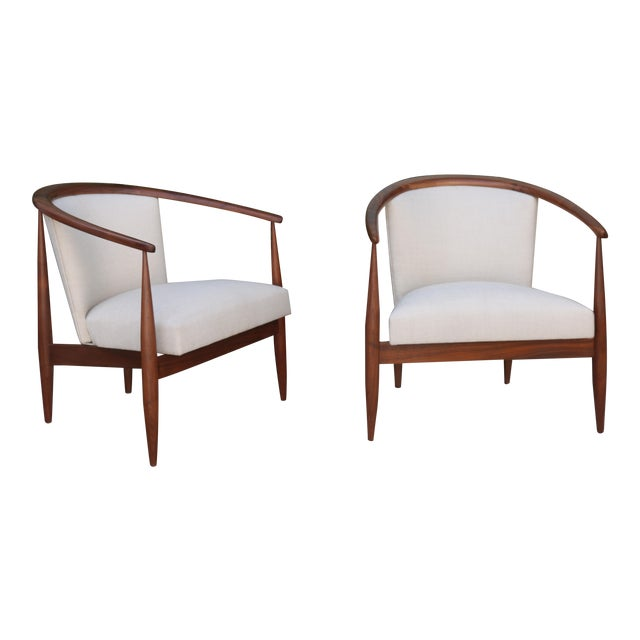 Kodawood Lounge Chairs - a Pair For Sale