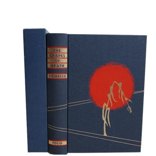 The Grapes of Wrath - Folio Society in Slipcase