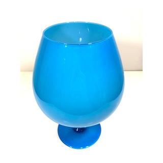 Vintage Empoli Blue Brandy Balloon Preview