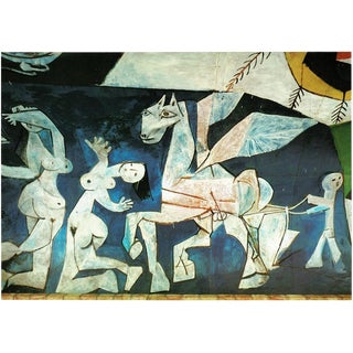 "1971 Pablo Picasso, ""War and Peace"" Period Parisian Photogravure For Sale"