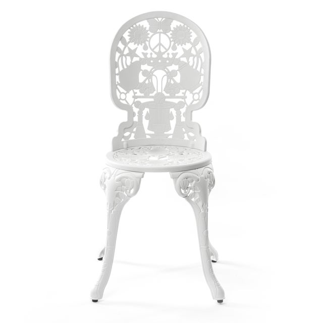 Not Yet Made - Made To Order Seletti, Industry Chair, Indoor/Outdoor, White, Studio Job, 2017 For Sale - Image 5 of 5