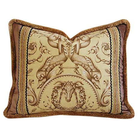 Designer Braemore Mythical Creature Accent Pillow - Image 1 of 7