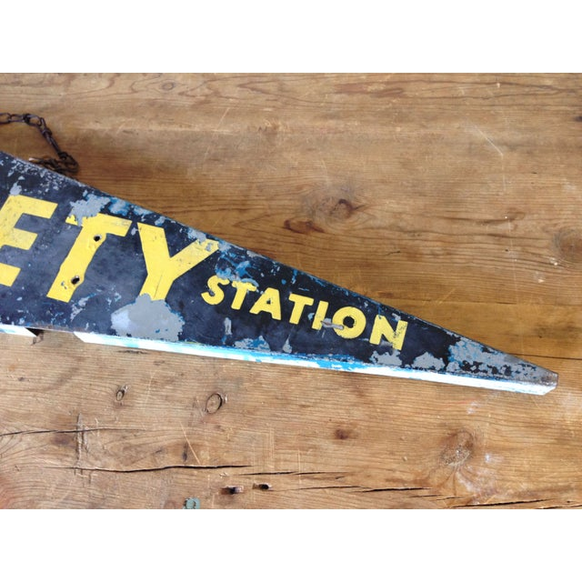 Antique Safety Station Sign - Image 7 of 8