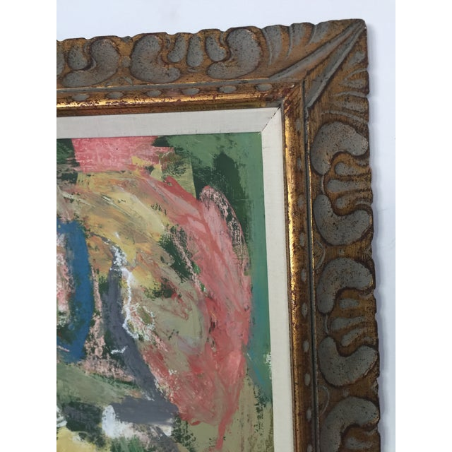 Abstract Expressionist Painting Kimberly Moore For Sale - Image 4 of 7