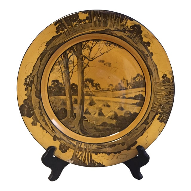 Arts & Crafts Plate by Royal Doulton - Image 1 of 4