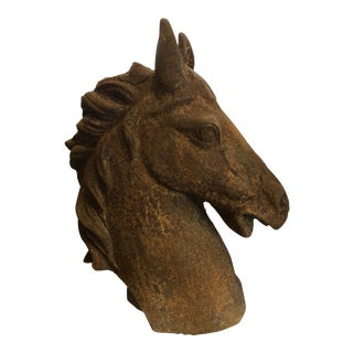 Cast Iron Horse Head For Sale
