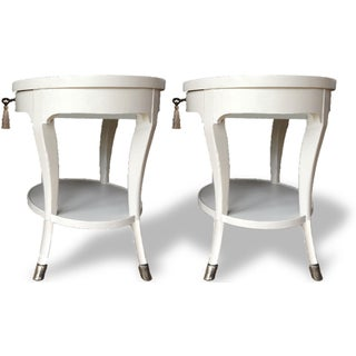 Louis XIV Baker Furniture Oval Side Tables - a Pair Preview