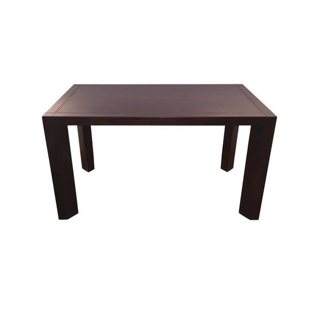 Keller Williams Mid-Century Parson Style Desk - Image 1 of 4