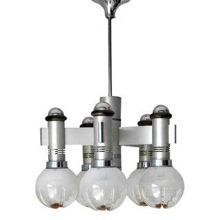 Mid-Century Modern Sciolari Globes Pendant For Sale