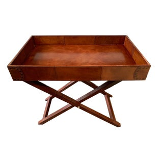 Baker Furniture Equestrian Butler Tray For Sale