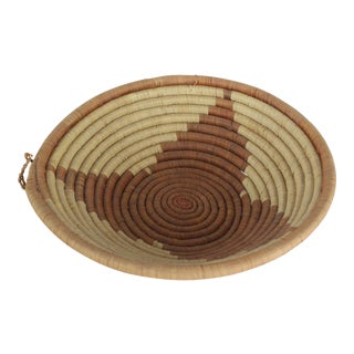 20th Century Tribal Triangle Basket For Sale