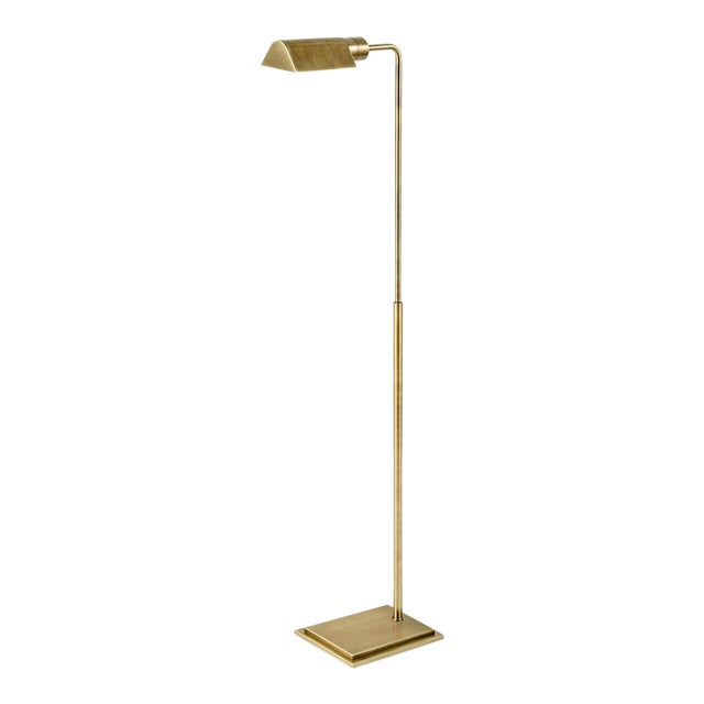 Townhouse Lamp - English Brass For Sale