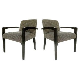 Dakota Jackson Armchairs - a Pair For Sale