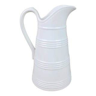 Late 19th Century Ironstone Milk Jug For Sale