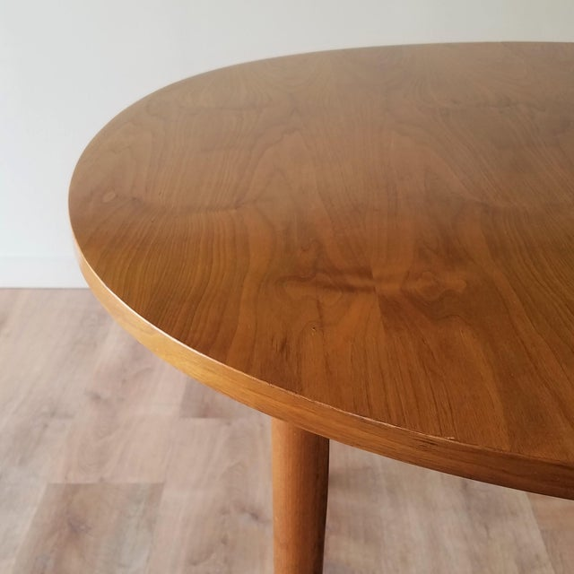 1963 Drexel Declaration Mid-Century Modern Walnut Dining Table For Sale - Image 9 of 13