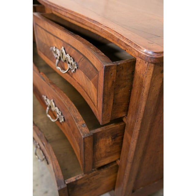 Mid 18th Century 18th Century French Louis XVI Period Parquetry Commode For Sale - Image 5 of 11