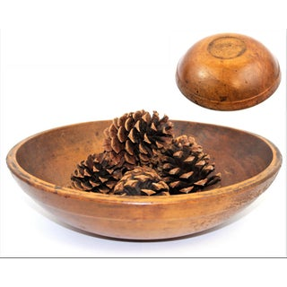 Early 20th Century Antique Wood Dough Bowl Preview