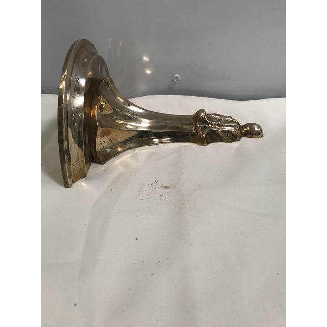 Brass Acanthus Wall Bracket - Image 6 of 8