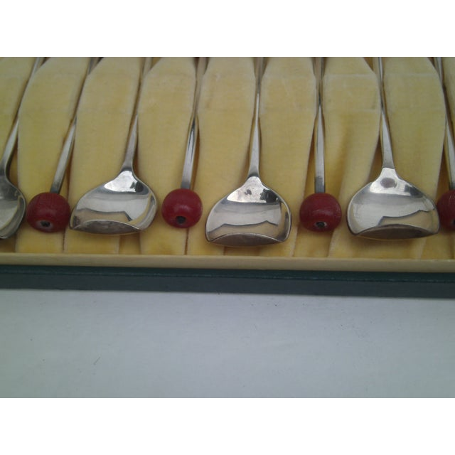 Deco Von Lengerke & Antoine Applesauce Spoons For Sale - Image 5 of 10