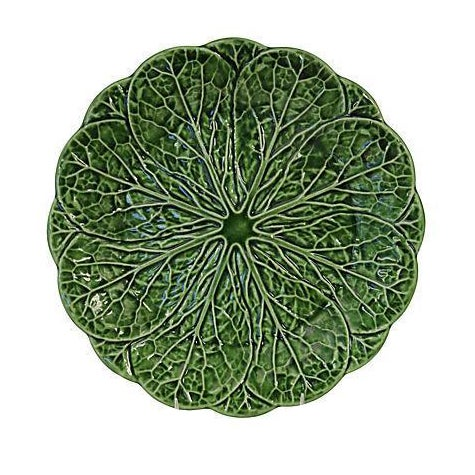 Vintage English Majolica Plate - Image 1 of 3