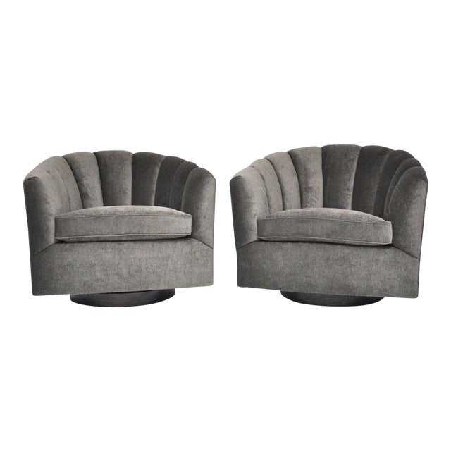 Mid-Century Swivel Chairs For Sale