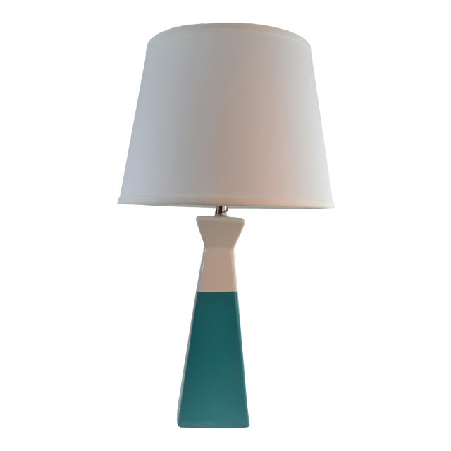 Bungalow 5 Gia Lamp Turquiose With Shade For Sale